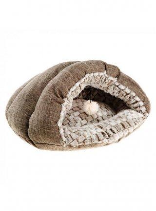 Cuccia Tufli in morbida pelliccia per gatti e cani