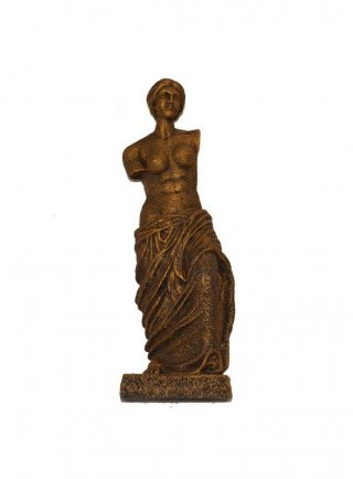 Statua Venere decorazione per acquari Bronze