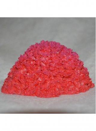 Decorazione finta spugna rossa cm 8x6x4h