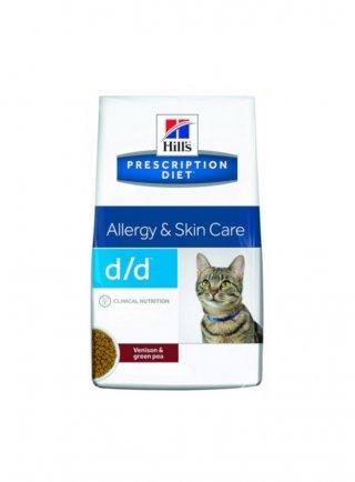 Hill's Prescription Diet Feline d/d Anatra&Piselli 1.5kg scadenza 31/10/2021