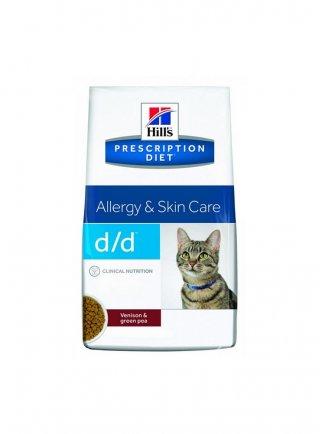 Hill's feline D/D 1,5 kg con anatra e piselli