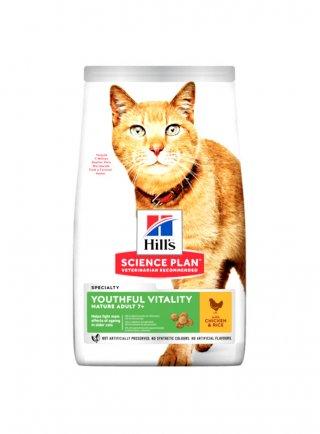Hill's feline youthful vitality adult 7+