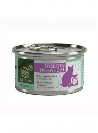 Cibo per gatti EQUILIBRIA Funzionali Sterilized Overweith 85 gr