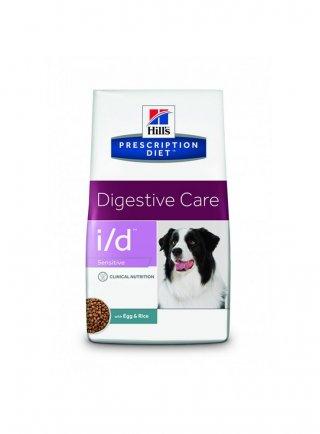 Hill's canine I/D sensitive cane 5 kg scadenza agosto 2021