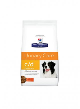 Hill's canine C/D multicare 2 5 12 Kg umido 370 gr