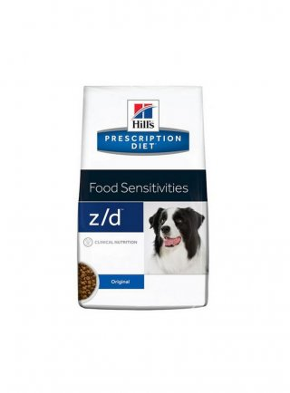 Hill's canine Z/D low e ultra 2 3 7,5 10 kg