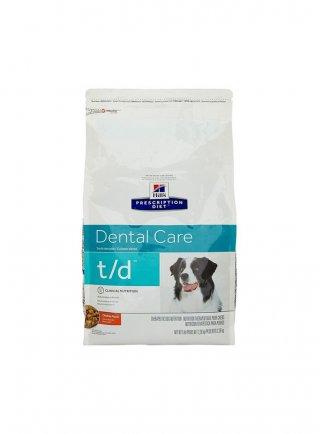 Hill's canine T/D 3 e 10 kg crocchetta per la pulizia dei denti