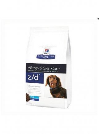 Hill's Prescription Diet cane Z/D mini Allergy e Skin Care 1.5 6 Kg