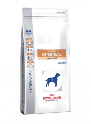Gastro Intestinal Low Fat cane Royal Canin
