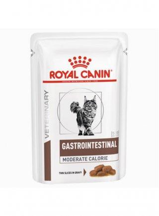 Gastro intestinal Moderate Calorie buste umido gatto Royal Canin 12x85g