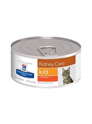 Hill's feline K/D 156 gr in pezzettini