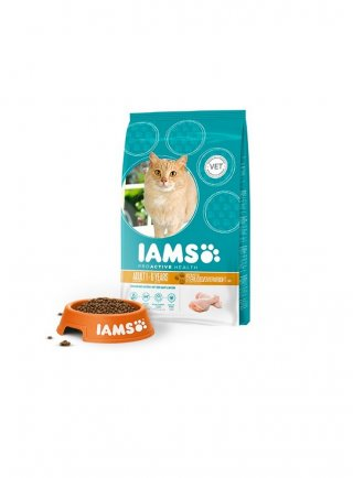 Iams Cat Light Adult All Breeds Chicken kg 10