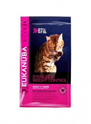 Eukanuba Cat Weight Control sterilized Adult All Breeds Chicken kg 10