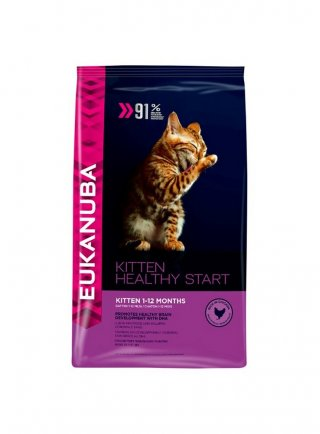 Eukanuba Cat Base Kitten HEALTHY START All Breeds Chicken kg 10