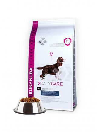 Eukanuba Dog Daily Care Adult Overweight / Sterilised All Breeds Chicken kg 12,5