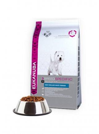 Eukanuba Dog Breed Specific All West Highland Terrier Chicken kg 2,5