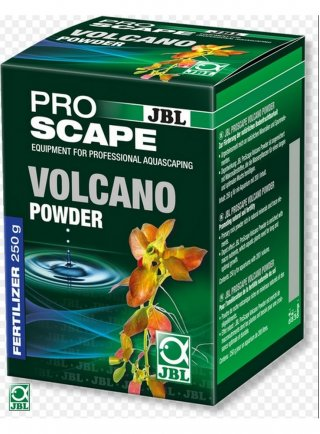 Jbl Proscape volcano powder incrementa la fertilità del terreno