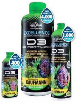 Haquoss D3 Kaufmann fertilizzante settimanale per acquario