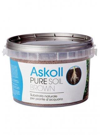 Askoll pure soil 4.4 Lt substrato per acquari