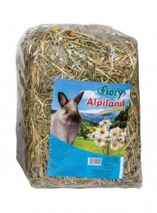 Fieno per conigli Alpiland Fiory Camomile 500 gr