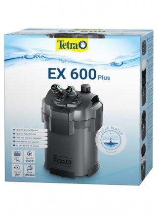 Filtro esterno tetra ex 600 plus per acquari fino a 120 litri