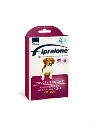 Fipralone cane pulci e zecche 4 fiale 10/20kg scadenza 3112/2021
