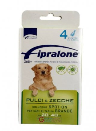 Fipralone Cane Anti Pulci e Zecche