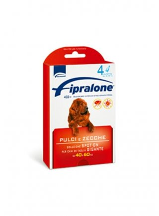 Fipralone cane pulci e zecche cane gigante 4 fiale scadenza 31/12/2021