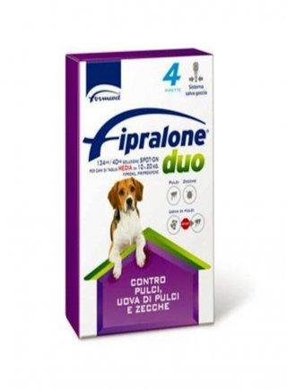 Fipralone duo cane taglia media 134mg 4fiale scadenza 31/12/2021