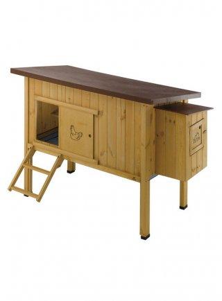 Gabbia casetta per galline Ferplast HEN HOUSE 30 pollaio in legno