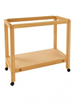 Ferplast supporto in legno per gabbia Piano 6 sumet 80 (81 x 40,5 x h 70 cm)