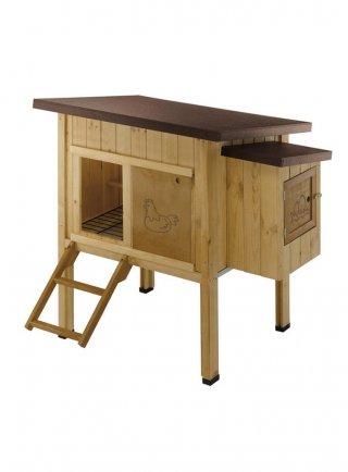 Gabbia casetta per galline Ferplast HEN HOUSE 10 pollaio in legno