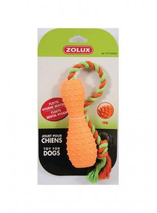 Gioco cane Zolux TPR birillo 15 cm assortito