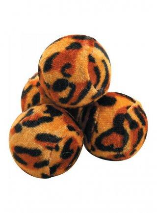 GIOCO per gatti Zolux 4 palline colorate da 4 cm