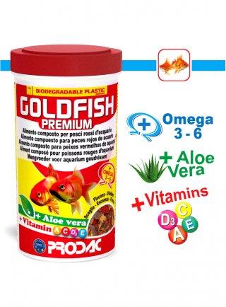 Prodac Goldfish Premium Mangime pesci rossi in Scaglie