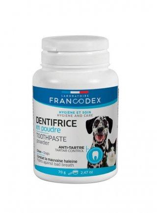Dentifricio in polvere per cani Francodex