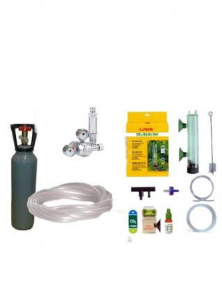 Kit co2 professional hqa con bombola ricaricabile