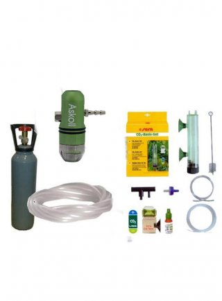 Kit co2 professional askoll con bombola ricaricabile