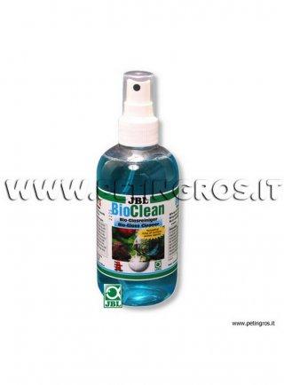 JBL Bio-Clean A 250 ml, soluzione detergente per vetri acquari