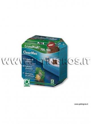 JBL ClearMec plus Pad kit filtri di ricambio per CP e1500 - 2 spugne + resine antifosfati, nitrati, nitriti