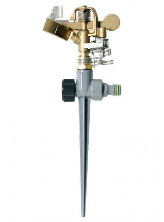 Irrigatore pulsante metallo 360° o settore