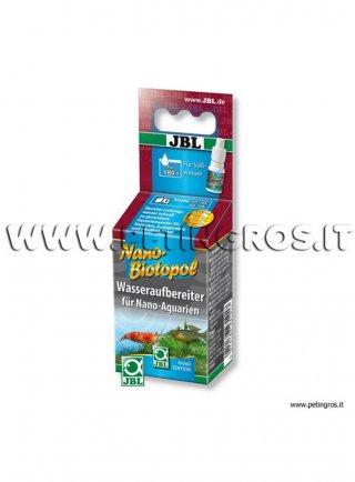 JBL Nano Biotopol – Biocondizionatore per nanoacquari - 15 ml per trattare 180 litri