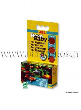 JBL Novo BABY, tris di mangimi per avannotti- 3 x 10 ml/18 g