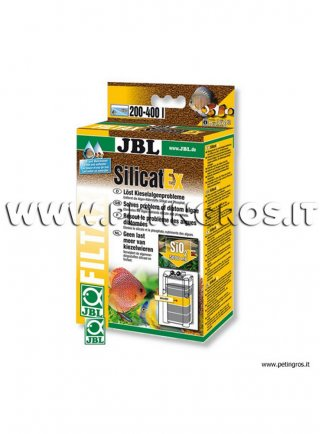 JBL SilicatEX resine per eliminare silicati dall' acquario dolce e salato