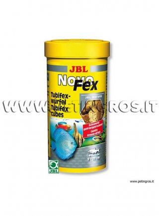 JBL Novo FEX Tubifex liofilizzati in cubetti