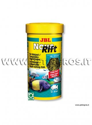 JBL Novo RIFT mangime a base vegetale in pellets