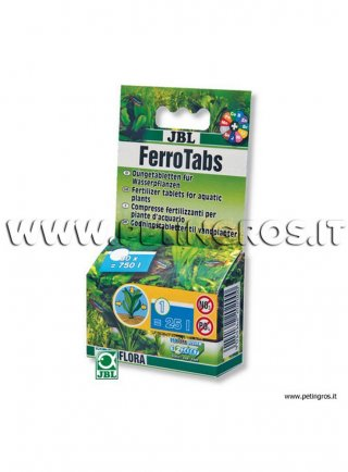 JBL Ferrotabs 30 T – Compresse fertilizzanti per piante d'acquario
