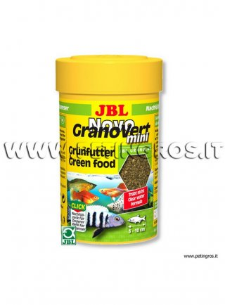 JBL RICARICA 100 ml/35 g NovoGranoVERT MINI per tappo dosatore NOVOCLICK