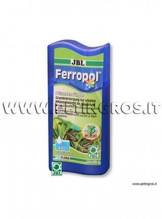 JBL Ferropol - Fertilizzante liquido per acquari con ferro oligoelementi e minerali
