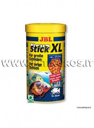 JBL Novo STICK XL mangime in pellets grandi per Ciclidi 1 litro